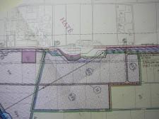 Plán komerčních pozemků Chvalovice